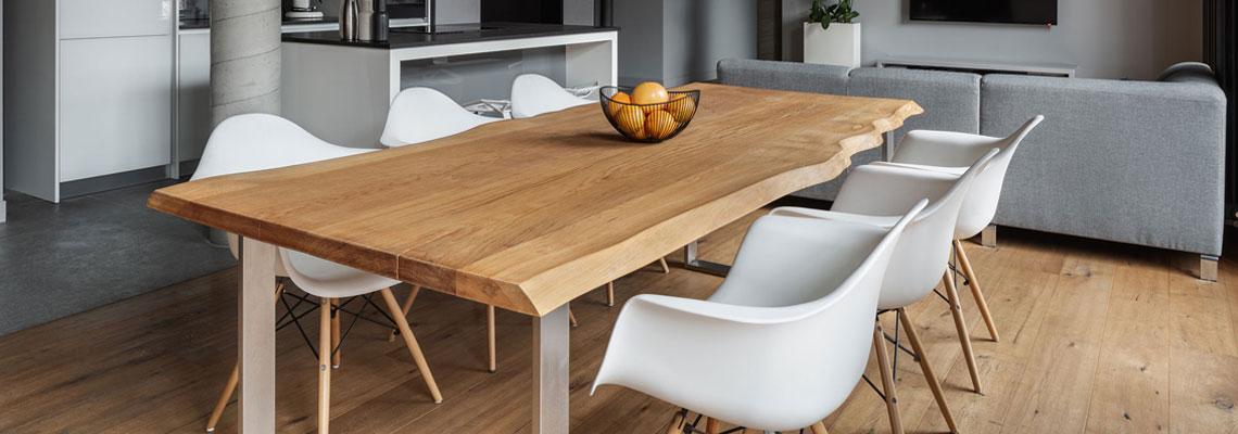 Table extensible en bois