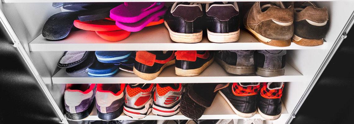 Ranger ses chaussures sans perdre de place
